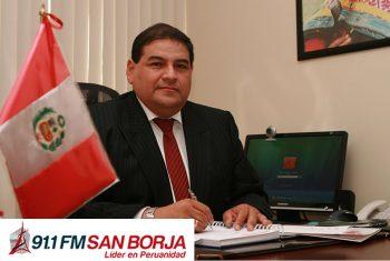 Iván Hidalgo en entrevista de Radio San Borja