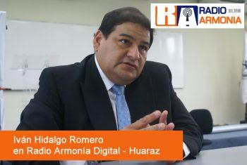 Ivan Hidalgo Romero en Radio Armonía Digital
